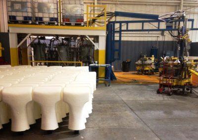 Renosol Bay City Michigan Flexible Foam Work Cell (football Pads)